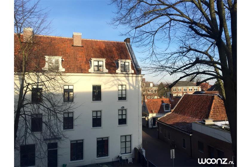Het Seminarie - Uitzicht vanuit het herenhuis op het Jongenshuis