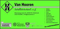Van Hooren Installatietechniek V.O.F., Oldebroek